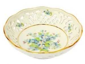 zdobiona porcelanowa miska