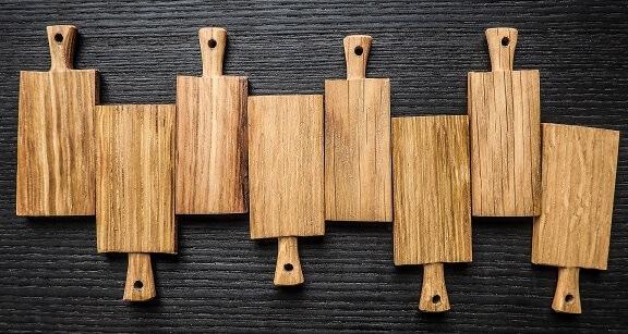deski kuchenne drewniane