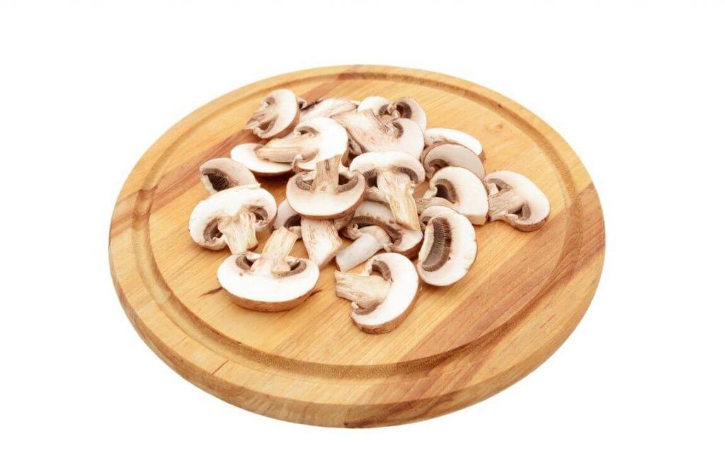 okrągła drewniana deska kuchenna